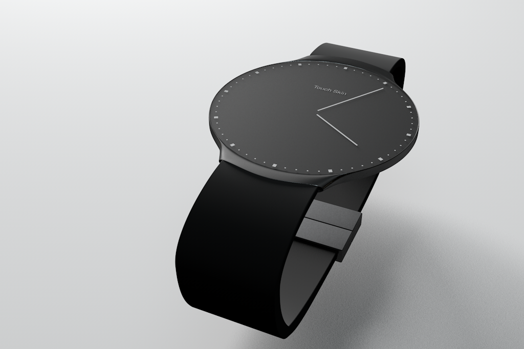 Touch Skin Watch - Edition with marks instead of numbers