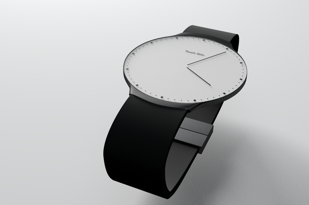 Touch Skin Watch - white edition