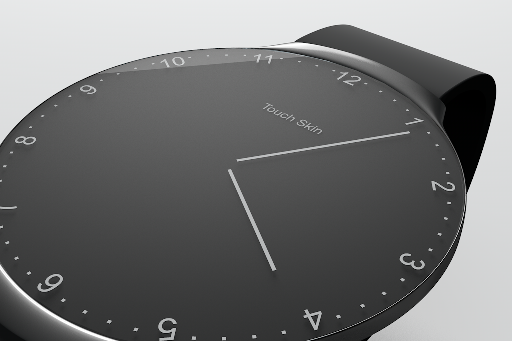 Samsung Touch Skin - Shadow detail